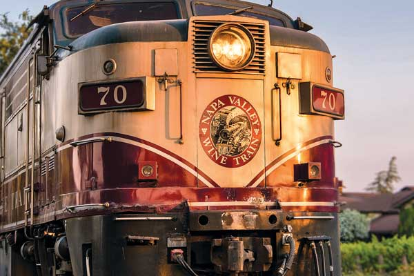 The Napa Valley Wine Train proudly continues America's railroading traditions