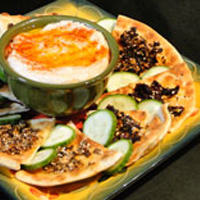 Touring & Tasting's Hummus With Crunchy Pita Appetizer
